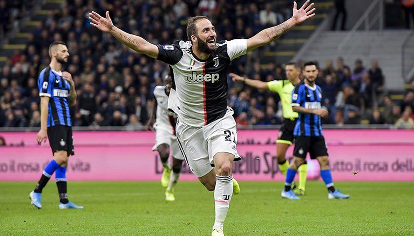 7. krog: Juventus premagal Inter in poskočil na vrh lestvice