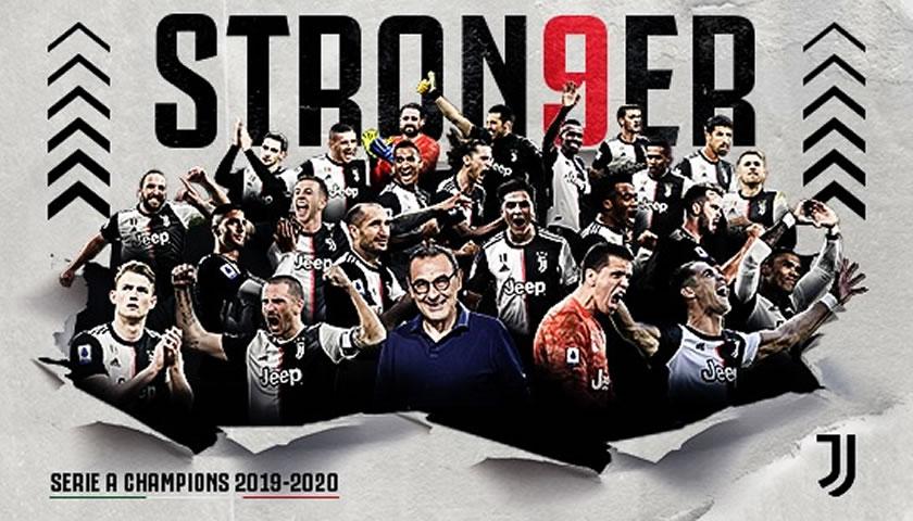 Juventus prvak sezone 2019/20